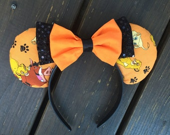 Lion king/ Simba inspired mouse ears