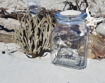Collect beautiful moments...Gratitude Jar