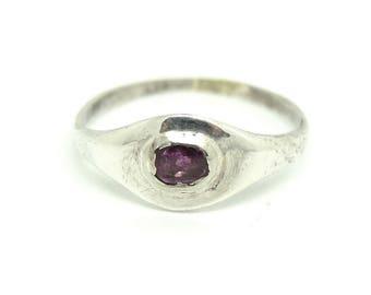 Silver Tourmaline Ring | Vintage Ring | Gemstone Ring | Tourmaline Ring | Contemporary Ring | Silver Gemstone Ring | Eye Ring