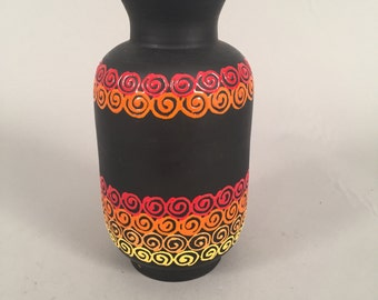 Midcentury italian colorful vase
