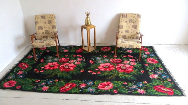 1 69x3 12m 5 5x10 2ft Large Bohemian Kilim Rug Berber Rug Vintage