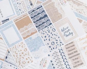 BLUE JEAN BABY Sticker Kit 018