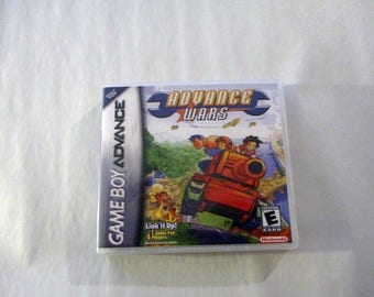 Advance Wars  GBA/GameBoy Advance  Custom Case  (***No Game***)