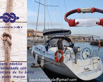 Customized Nautical Bracelet - Men bracelet