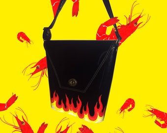 FLAME BUCKET BAG