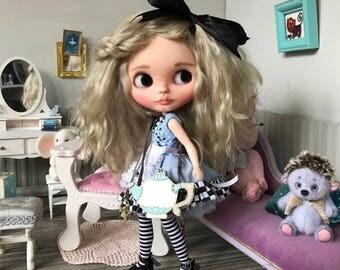 """Doll Sold-OOAK blythe doll """"Alice"""" by Darya Javnerik"""