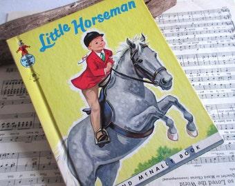 Vintage Book Little  Horseman  Book for Kids  Nursery Decor  Elf Book Old Books