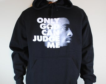 2pac Only God Can Judge Me Hoodie Mens Sweatshirt Tupac