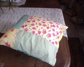 shabby chic cushion and cover