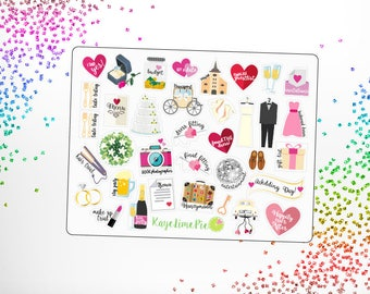 Wedding Planner Stickers