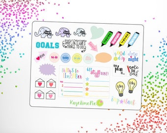 Planner Highlight Stickers