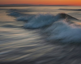 Fine Art Photography Abstract,Seascape, Landscape, Fine Art Prints, Wall Pictures, Shoreline Fine Art, Sunrise Over Waves