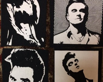 PATCHES Morrissey The Smiths Lot Set of 4