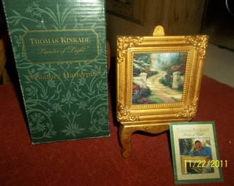 Thomas kinkinkade miniature masterpiece