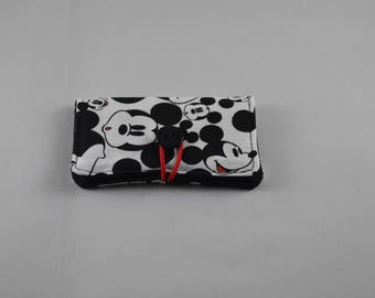 Small Wallet, Business Card Case, Gift Card holder, Birthday Gift, Thank you Gift, Handmade wallet, Disney Mickey Mouse