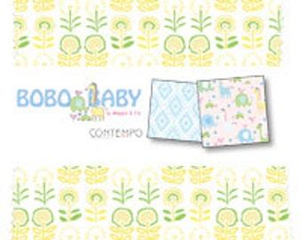 "SALE Bobo Baby by Benartex - (42) 5"" x 5"" Charm Pack"