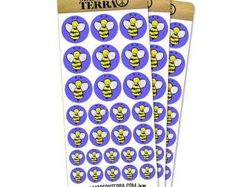 Busy As A Bee Removable Matte Sticker Sheets Set