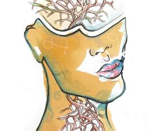 Tea & Watercolour - The Speaking Tree