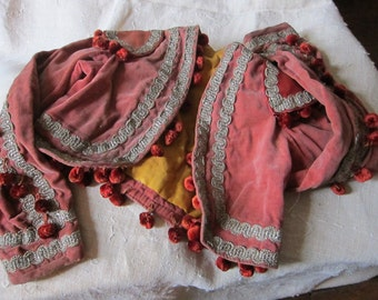 Antique french child's toreador jacket