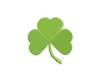 Clover embroidery design - Shamrock embroidery - St. Patricks embroidery - Machine embroidery digital file - 5 size - INSTANT DOWNLOAD