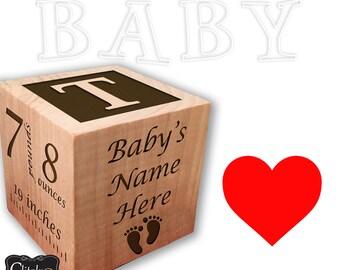 Wooden Blocks, Baby Blocks, Wooden Toys, Baby Toys, Decorative Blocks, Nursery Decor, Personalized Baby Blocks, Custom Baby Blocks, Nursery