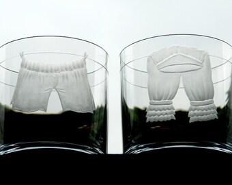 Together - engraved glass
