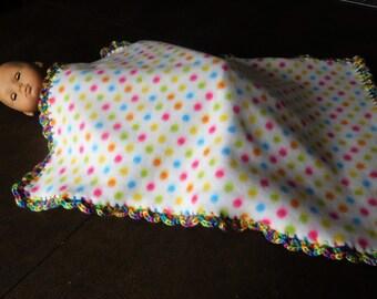 Fleece Doll Blanket
