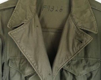 Military Army Field Coat M 1943 US WWII  Tagged 40R