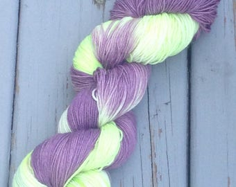 Luna Moth - hand dyed yarn