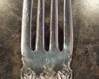 1904 Vintage Silverplate Serving Fork by 1847 Rogers Bros. 8 1/2""