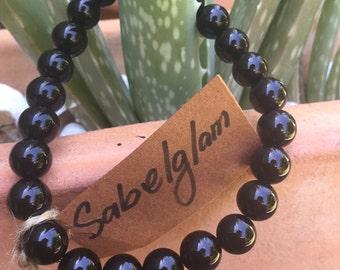 Black onyx natural bracelet