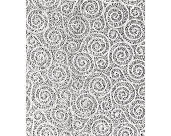 Handmade silk fiber paper