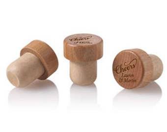 12 pcs Cheers Personalized Wine Cork Stopper - DGI22-A16