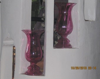 Perfectly Pink ! A Perfectly Peerless Pair of Purely Pink Perfection ! Put Simply A Vase