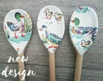Decorative Spoon Set in New Cath Kidston Duck Design
