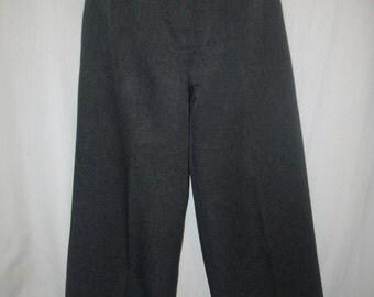 Ecru Vintage 70's Wide Leg Pants Size: 5/6
