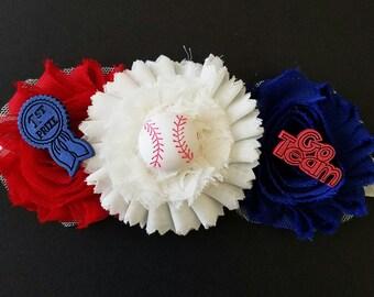 Baseball infant headbands