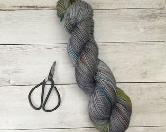 Ready to Ship - Hand Dyed Yarn - Spring Storm