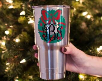 "Shop ""christmas monogram"" in Bags & Purses"