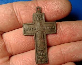 Ancient Bronze Cross.