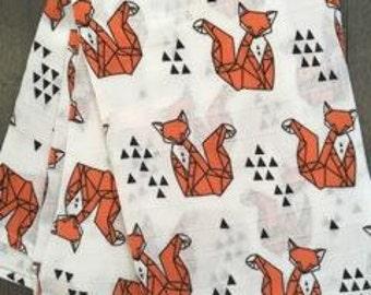 Doudou Fox chiffon