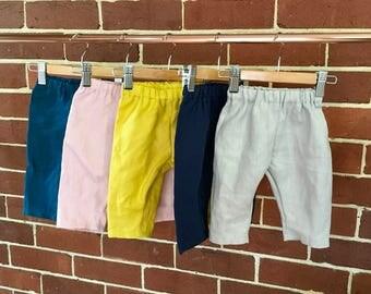 Linen pants trousers sizes 000-5