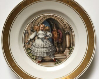 Royal Copenhagen Hans Christian Andersen The Red Shoes Collectable Plate