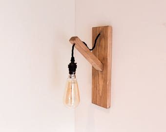 Wall lamp etsy pine wall light wall lamp scandi style lighting wall lighting wooden wall mozeypictures Images