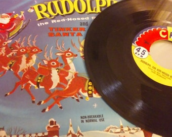 Rudolph the Red Nosed Reindeer 45 RPM