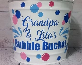 Personalized Bucket - 10 Quart - Car Wash Bucket /Gift Basket/ Easter Basket