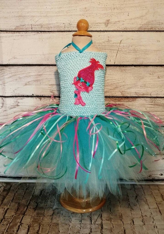 Dreamworks Trolls Girls Tutu Costume