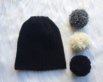 Ribbed Beanie - Woman's