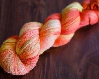 Glut – Paso Doble – Merino/silk lace yarn