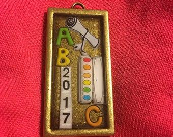 2017 Graduation or Teacher Gift Pendant